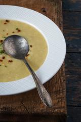 Leek Zucchini Soup