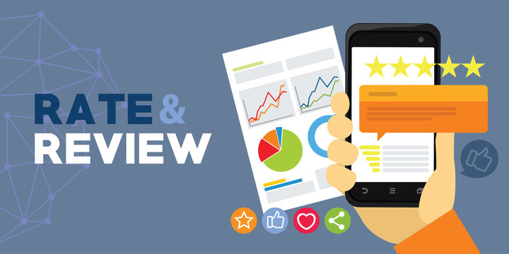 application rating and review from user