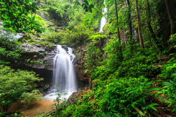 The beautiful nature of Khun Pa Wah Waterfall, Tak province, Thailand