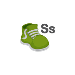 S is for Shoe