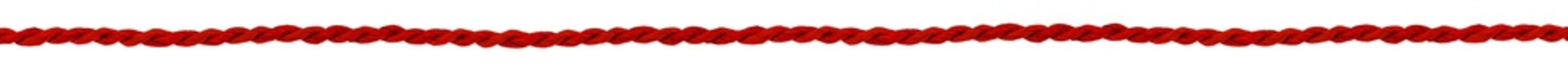 ficelle végétale, paille naturelle rouge