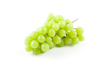 Green fresh ripe grapes