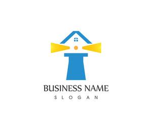 Light House Logo Design