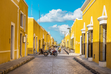 Izamal, the yellow colonial city of Yucatan, Mexico