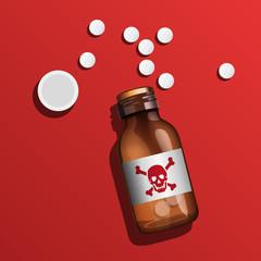 poison - médicament - mort - suicide - toxique -venin - venimeux
