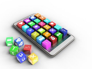 3d application icons