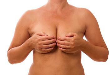 schöne straffe Brust mit tollem Dekolleté