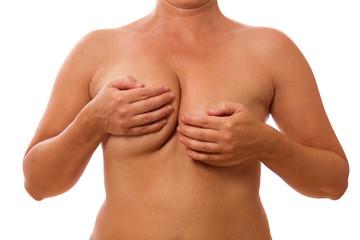 Busen Fehler, unterschiedliche Brüste