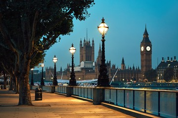 Photo sur Plexiglas Londres Big Ben and Houses of Parliament