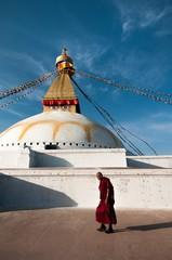Boudnath, Kathmandu, Nepal