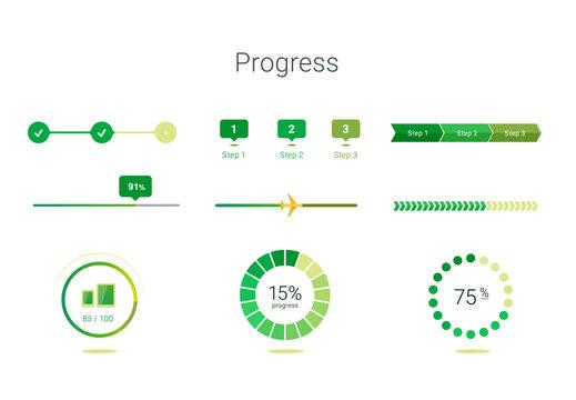 progress bar user interface design
