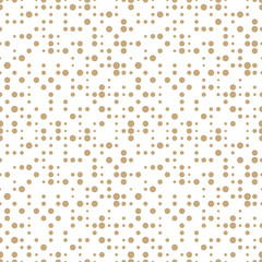 geometric dots deco art seamless pattern design