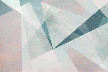 graphische abstrakte Formen in hellen Pastelltönen - Hintergrund Design