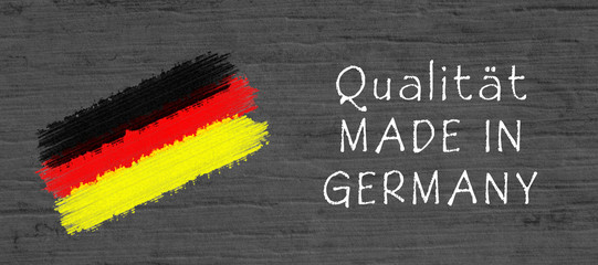 Qualität Made in Germany Symbol