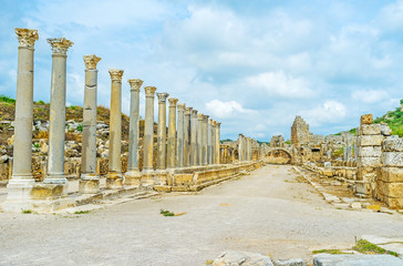 The streets of Perge
