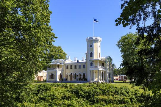 Castle of Keila Joa in Estonia