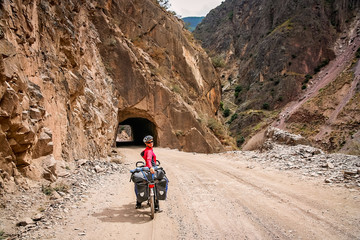 Cycle touring through Yunnan in China