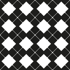 Abstract square figure as seamless pattern