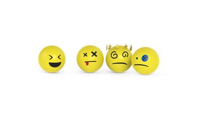 Smileys werden ausgelacht