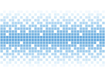 bright vector blue mosaic tiles background