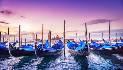 Photo sur Aluminium Venise venice at sunrise