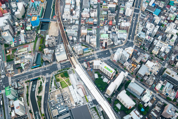 Tokyo Japan from Above