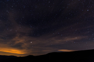 Nightshoot of sky from Spain.