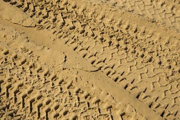 Empreinte de sable