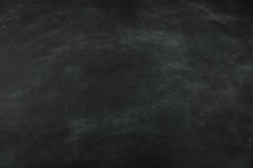 empty black chalkboard background for design