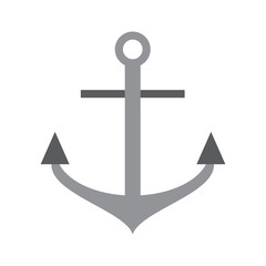 anchor navy icon image vector illustration design