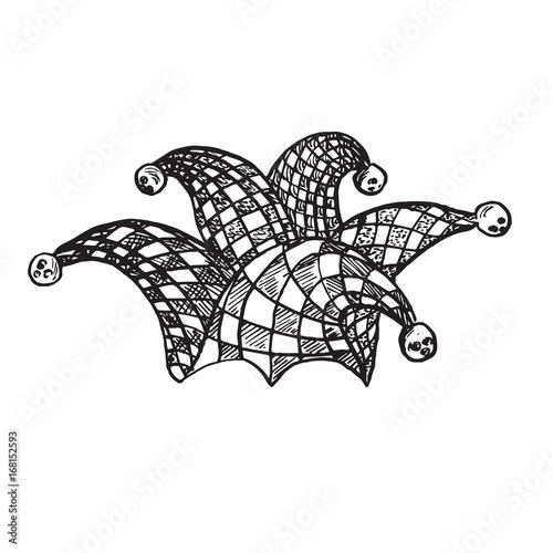 ff97088b051 Checkered jester hat