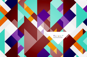 Triangle pattern design background