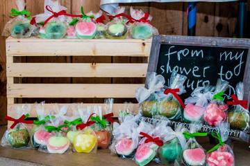 soap hand made organic craft baby shower
