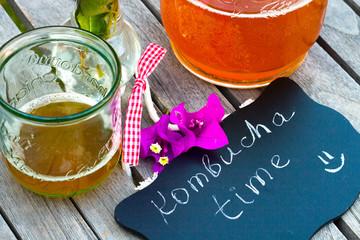 House made Kombucha tea