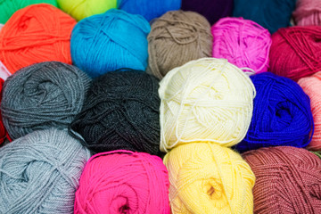 Yarn for knitting.  wool yarn