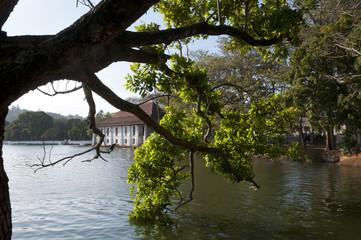 Lake in Kandy Sri Lanka
