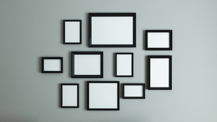 picture black border frame