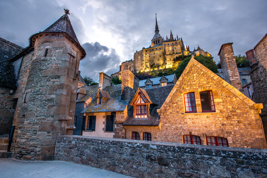 Chemin de ronde des remparts, Mont Saint Michel