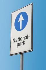 Schild 173 - Nationalpark