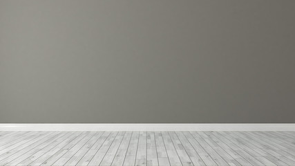 brown wall background with white parquet