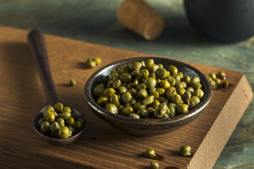 Raw Green Organic Marinated Capers