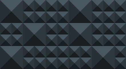 4k Pyramid Pattern - Blue Grey