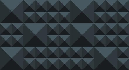 4k Pyramid Pattern - Blue Grey