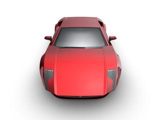 Roter exotischer Sportwagen