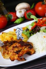 Grilled Chicken Chops