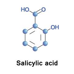 Salicylic lipophilic monohydroxybenzoic acid