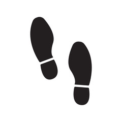imprint soles shoes vector
