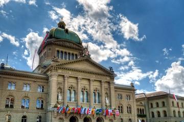 Palais fédéral de Berne, Suisse