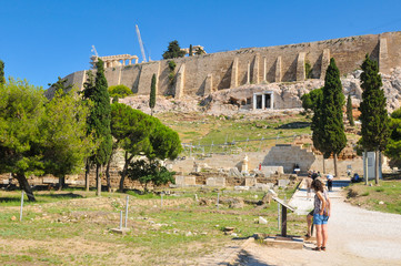 Acropolis in Greece, Athens