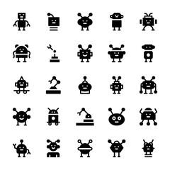 Robotics Solid Icons
